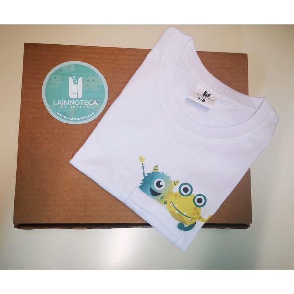 Camiseta niño/niña Pirtoco y Geniótika 4