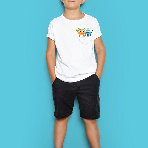 Camiseta niño/niña Walfy e Idealina 1